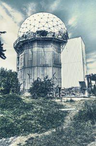 Eheml. Abhöranlage der US-Armee, Teufelsberg, Berlin. Diesel74656 / devianart