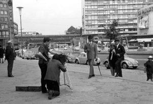 Kameras am Breitscheidplatz: Behindern oder Verhindern? Foto: Willy Pragher /CC BY 3.0